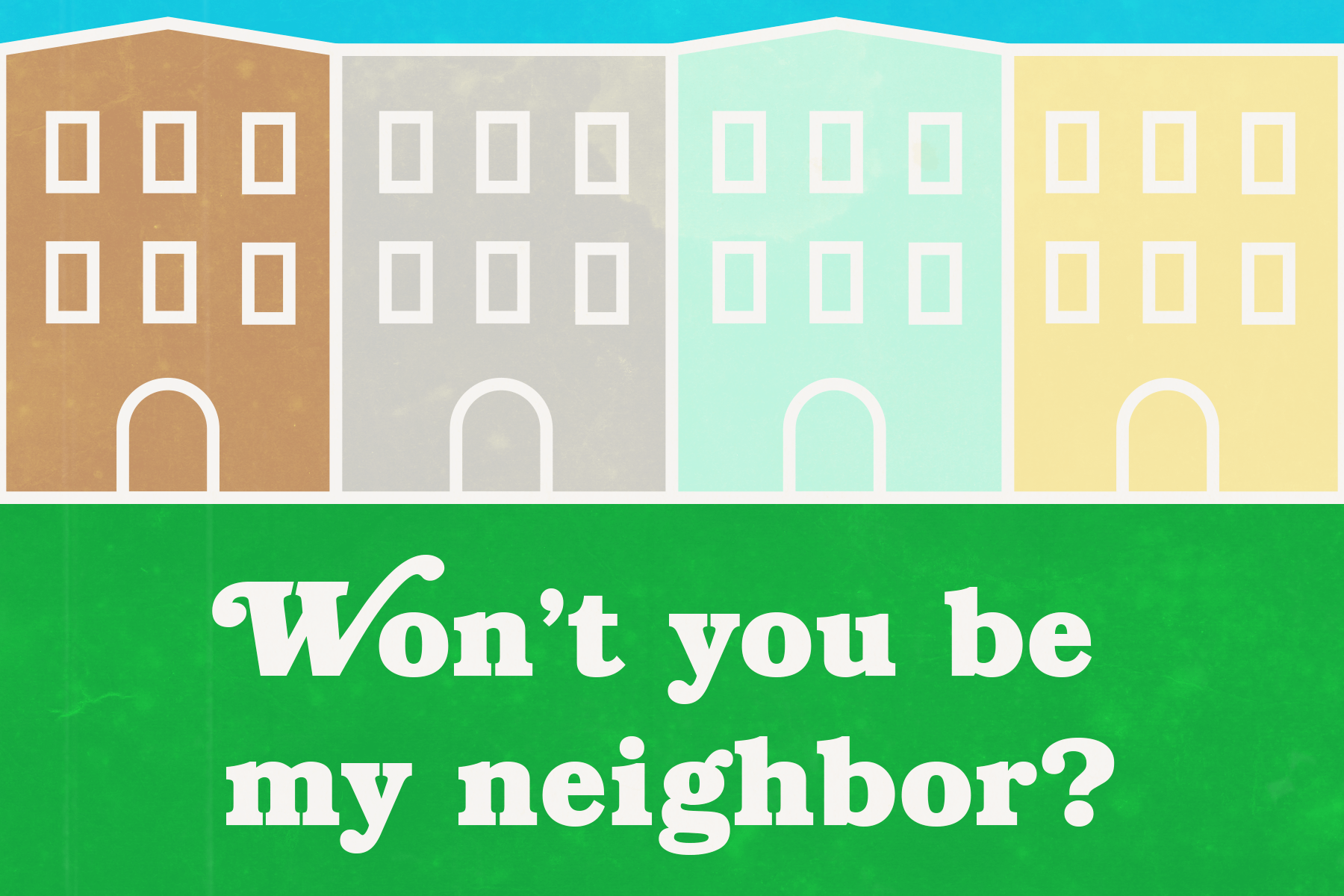 Be my neighbor?
